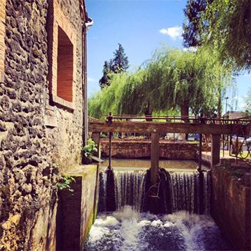 Le bief du Moulin de Corneil